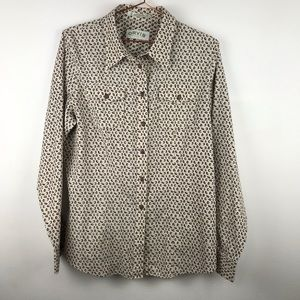 Orvis Wrinkle Free Acorn Button Up Top 14